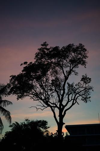 Hua Hin sunset view