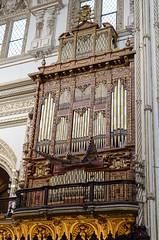 Crdoba Cathedral - Organ (Kenneth Cox) Tags: detail spain interior pipes andalucia cordoba mezquita crdoba
