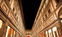 Uffizi gallery (citylights.tours) Tags: old italy art history statue stone museum architecture night florence europe palace medieval tuscany artmuseum vacations uffizimuseum traveldestinations famousplace buildingexterior italianculture europeanculture builtstructure