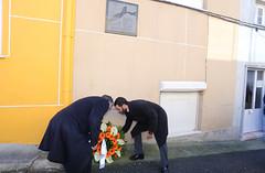 4 Dezembro - Deposição de coroa de Flores em Camarate