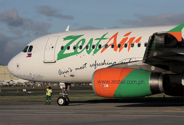 Zest Air                              Airbus A320                                 RP-C8995