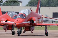 Red Arrows (stu norris) Tags: hawk redarrows ffd riat raffairford