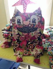 Clothespin (Peg) Bag (made by mauk) Tags: animal sewing craft fabric laundrybag clothespinbag pegbags