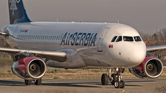 Air Serbia A320 YU-APG (Kris SD) Tags: airplane aviation serbia airbus belgrade a320 lybe airserbia yuapg