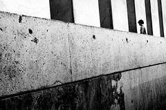 between the lines (willy vecchiato) Tags: people blackandwhite berlin monochrome lines architecture germany nikon geometry daniel candid libeskind biancoenero jewishmuseum shoah d7000 monocramatico