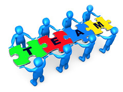 """Team Of 8 Blue People Holding Up Connected Pieces To A Colorful Puzzle That Spells Out """"Team,"""" Symbolizing Excellent Teamwork, Success And Link Exchanging Clipart Illustration Graphic (swathivennapusa) Tags: people man male men mystery work person corporate 3d goal teams team workers community support render unity union group plan progress puzzle business problem staff help assemble worker colleagues jigsaw concept metaphor links job success puzzles problems challenge solution strategy challenges employee complete challenging linking cooperation seo employees teamwork concepts assembling personnel solve puzzlepiece onlinemarketing completion blueperson internetmarketing puzzlepieces bluepeople worktogether searchengineoptimization businessconcept businessconcepts interlinking linkexchange jigsawpuzzles piecetogether 3dpeople piecetoapuzzle exchanginglinks"""