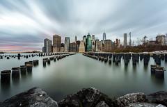New York Skyline (Explore 12-19-14) (Graham_CS) Tags: new york longexposure newyork brooklyn manhattan explore freedomtower abigfave leefilters leelittlestopper