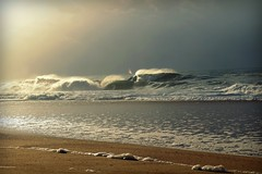 seignosse petites vagues fin d automne seignosse landes france  small end of autumn wavesne (dudulandes) Tags: sea france beach water french waves hossegor plage seignosse landes beaute