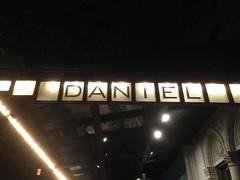 Daniel Restaurant.