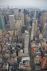 Overwhelming (Paul J's) Tags: city nyc newyork building skyline state manhattan empire empirestatebuilding 13011025nyc