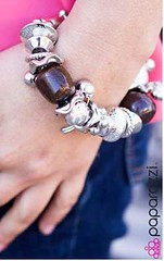 5th Avenue Brown Bracelet K1 P9411-5