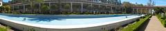 Panorama - Getty  Villa, Malibu (KiwiCharlotte - Insta charli_nz) Tags: panorama italian perspective style malibu villa getty bent charlottenz
