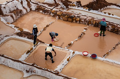 Peru (David Ducoin) Tags: white color peru southamerica inca cuzco america work pond cusco salt pe sacredvalley maras ducoindavid