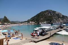 palaiokastritsa beaches  ✿ (cyberjani) Tags: sea greece corfu ionian palaiokastritsa