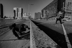 Took a picture of taking a picture (marcovandenarend) Tags: street rotterdam streetphotography straatfotografie posthumalaan canoneos500d canonefs1018mmf4556isstm