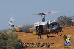 OCSD Duke 6 (PhantomPhan1974 Photography) Tags: orangecounty bellhelicopters ocsd uh1h ranchomissionviejo orangecountysheriffsdepartment phantomphan1974 n186sd
