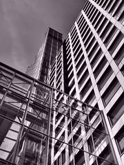 HardenbergCenter_01 (Kurrat) Tags: blackandwhite skyline haus center architektur ruhrgebiet gebude dortmund abstrakt hochhaus skycraper wolkenkratzer linien geometrisch hardenberg einfarbig