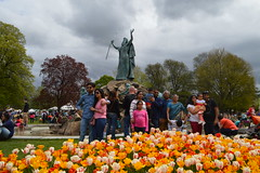 The Albany Tulip Festival being celebrated at the Moses Fountain aka the Rufus Henry King Memorial Fountain with Moses smiting the rock for water on Mount Horeb sculpted by John Massey Rhind erected in 1893 located in Washington Park, Albany, New York, US (RYANISLAND) Tags: flowers flower spring tulips 17thcentury nederland upstateny na tulip albany empirestate newyorkstate albanyny nederlands springflowers tulipfestival albanynewyork iloveny flowerfestival springflower tulipflower newamsterdam ilovenewyork tulipflowers theempirestate albanytulipfestival kingdomofthenetherlands dutchsettlement ny flower flowers spring newyork nyc springtime newyorkcity ilovenewyorkspringdestination albanyny albanynewyork albanytulipfestival tulipfestival tulips dutchtulips upstatenewyork nys springflowers orangewonder orangewondertulip queenwilhelmina holland thenetherlands netherlands dutch welcomespring tulip