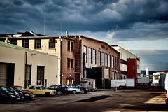 Phoenix Halle (Schuchardts') Tags: g master sony alpha a7r2 a7rii mainz phoenix halle 45 autos cars phnix city cloud clouds cloudy wolken gewitter sonne sun lightsound