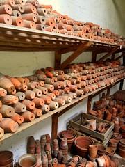 Lots of Pots (Whamehtie) Tags: pots claypots nottinghamshire pottingshed clumber plantpots clumberpark