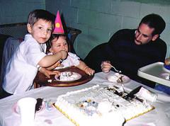 Dans BDay 1991 01 (tineb13) Tags: birthday friends party dan jim 1991 starr