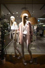 Night Pair (H.H. Mahal Alysheba) Tags: urban fashion japan shop zeiss nikon snapshot wide indoor apparel d800 distagon carlzeiss 28mmf2