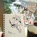GWだけど平日 #sketch #sketchbook