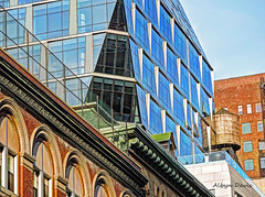 New York City (albyn.davis) Tags: nyc newyorkcity blue brown colors architecture modern colorful manhattan