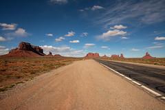Approaching Monument Valley (jpmckenna - Denali Bound) Tags: arizona landscape desert highdesert monumentvalley navajotribalpark getoutside
