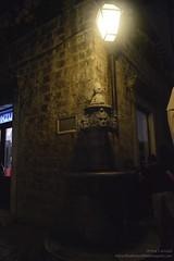 Dubrovnik, Croatia (Alcu3- www.thisthatandthepassport.com) Tags: travel summer water fountain lamp night corner noche agua streetlamp fuente croatia paisaje tourist via verano farol dubrovnik truism truismo
