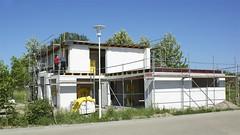 Ein Haus entsteht in Altefhr Bild 1 (Carl-Ernst Stahnke) Tags: rgen campingplatz hausbau gerst altefhr robau