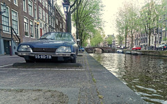 CX (Kronemans) Tags: amsterdam canal citroen cx canals grachten gracht citroencx amsterdamcentrum