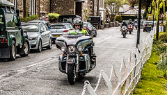 Motorcycles in Waddington (trevorhayes502) Tags: lancashire motorbike waddington clitheroe hellsangels retiredbikers