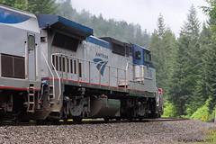 Southbound Coast Starlight (youngwarrior) Tags: railroad mountain up oregon train amtrak unionpacific passenger coaststarlight amtk mccrediesprings