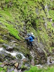 Following the cascades up the Eisc an Chuillinn - DSC06629 (JJC2008) Tags: eisc chuillinn reeks kerry bishopstown bhc gully