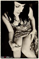 Fanny Divine, Manchester, 2006... (SnapperJuninho) Tags: stockings beauty dress lingerie retro heels suspenders burlesque attraction nylons allure garters highheelsretrolook