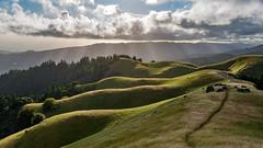 Sunbeams at Tam (pixelmama) Tags: california sunset mountains explore marincounty mounttam sunbeams mounttamalpaisstatepark pixelmama bolinasfairfaxridge westridgecrestblvd