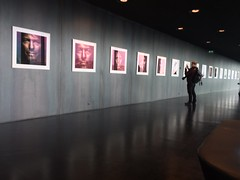 Bowie Photo exhibit at Harpa (gmorient1@aol.com) Tags: bowie iceland reykjavik harpa