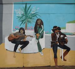 Street art / graffiti, Eastbourne, June 2016 (roger.w800) Tags: streetart graffiti eastbourne sussex seasidetown music musicians singer musicianswhodiedyoung amywinehouse elvispresley tupacshakur janisjoplin kurtcobain whitneyhouston michaeljackson bobmarley jimihendrix mural tribute john lennon