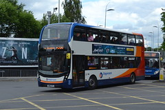 Stagecoach AD Enviro 400MMC 10578 SN16OTS - Stockport (dwb transport photos) Tags: stagecoach alexander dennis enviro 400mmc 10578 sn16ots stockport