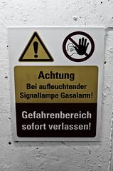 Gaswarnung (-BigM-) Tags: plant alarm germany deutschland tag gas sewage baden der tr fils klrwerk treatment bigm wrttemberg gppingen wastewater uhingen offenen