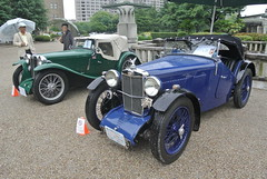 BCCM16048 (tanayan) Tags: park classic car nikon automobile meeting mg nagoya british midget j1 td    tsuruma