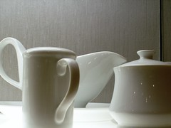 Whitedishes (gregarch2) Tags: china white clean pure porcelain creamer sugarbowl