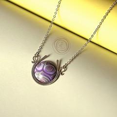 New pendant (Author's jewelry) Tags: jewelry pendant anhnger wirework stil wirewrap modeschmuck uniquejewelry authorsjewelry gfart gfartstore