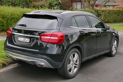 2014 Mercedes-Benz GLA 200 CDI (X 156) wagon