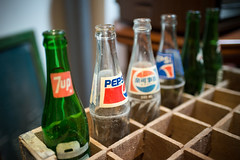 Chilled out (Mark Chan Photography) Tags: malacca old bottles fizzy pepsi 7up nikon df malaysia reminisce oldtimes glass