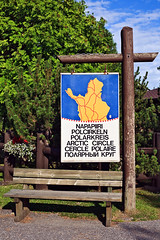 FIN_193 - Rovaniemi (Viaggiatore Fantasma Summer Tour 2016 - CH-LI-AT) Tags: canon 5d finlandia finland suomi rovaniemi lapponia lapland lappland citt city stadt circolo polare artico arctic circle polarkreis arktisch napapiiri
