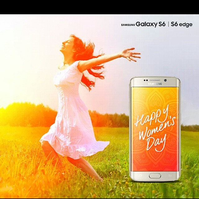 Happy Womens day#respect#kashmir#08.03.15#Samsung galaxy s6 #2015