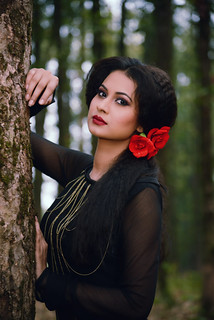 For @Soumyas_Dress shoot@ Forest