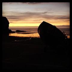 Cwch rhwyfo rasio / Celtic Sea racing row boat (FfotoMarc) Tags: square squareformat cymraeg hefe iphoneography instagram instagramapp